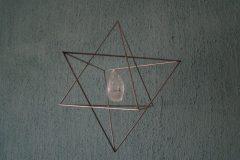 De Star Tetraeder met een bergkristal.